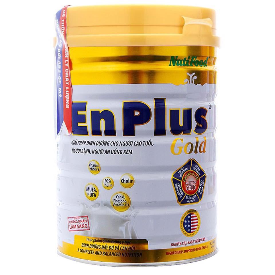 Nuti Enplus Gold 900 Gr : sữa bổ sung dinh dưỡng hàng ngày cho người trưởng thành