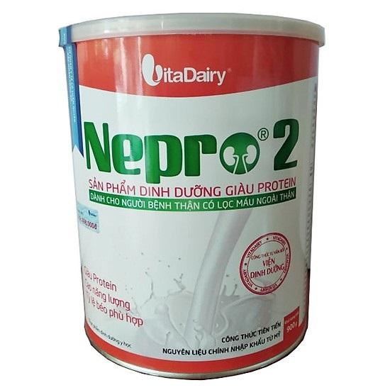 Nepro 2 900 gr : Dinh dưỡng y tế cho bệnh nhân chạy thận nhân tạo ( lọc máu)