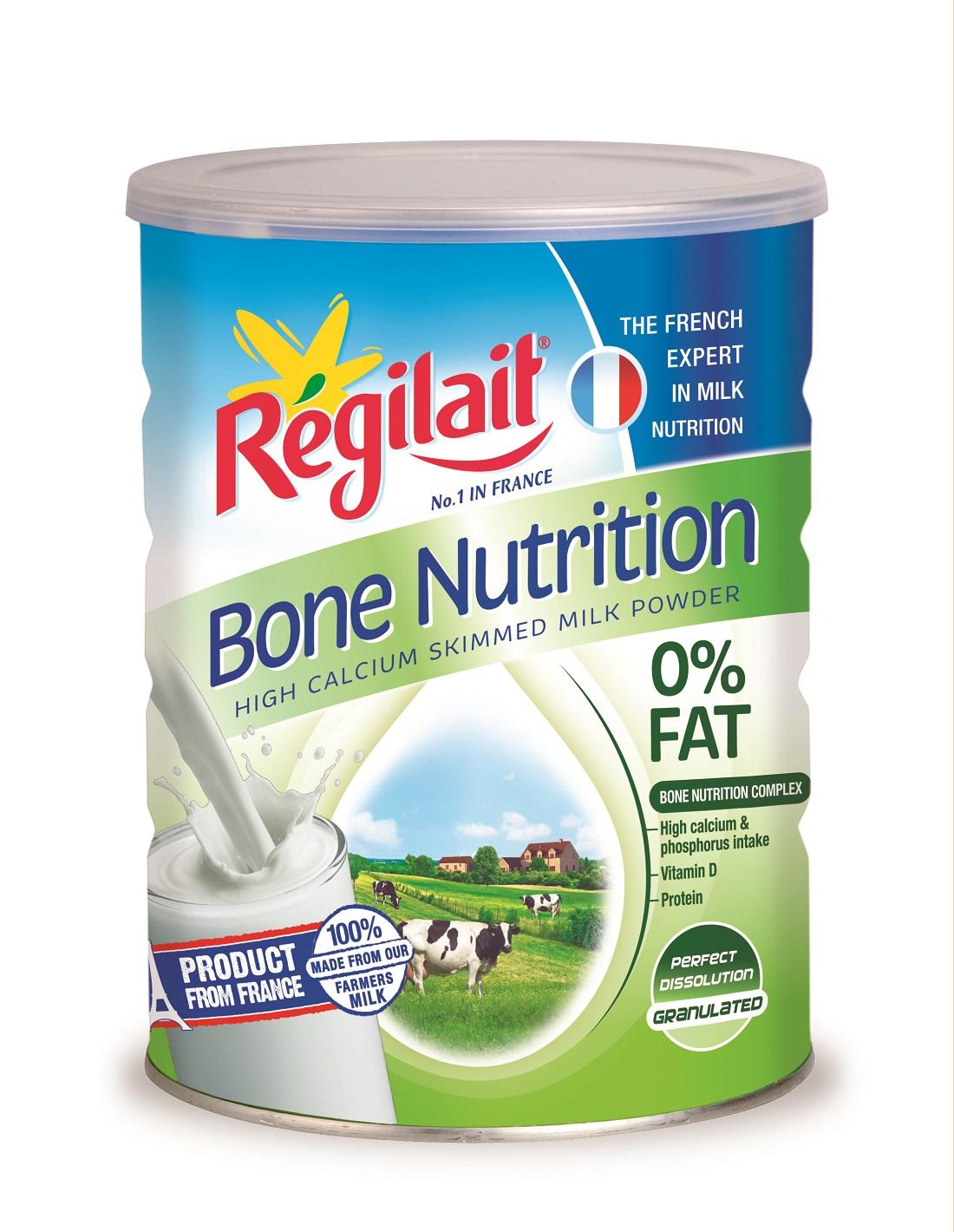 Sữa REGILAIT 700 Gr bổ sung CANXI , 0% Béo , dùng cho người trưởng thành