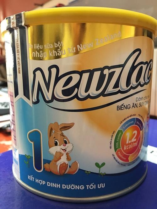 NEWZLAC 1 700 gr : Sữa công thức cho trẻ biếng ăn , suy dinh dưỡng từ 6-36 tháng