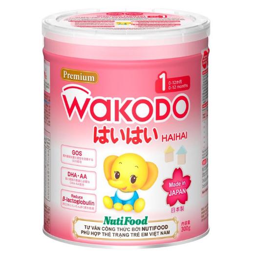 Sữa Wakodo Haihai 1 810 Gr ( Made in Japan ): Sữa tăng trưởng cho trẻ từ 0 đến 12 tháng tuổi