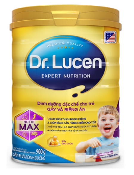 Sữa Dr. Lucen NutriMax cho trẻ GẦY và BIẾNG ĂN trên 1 tuổi