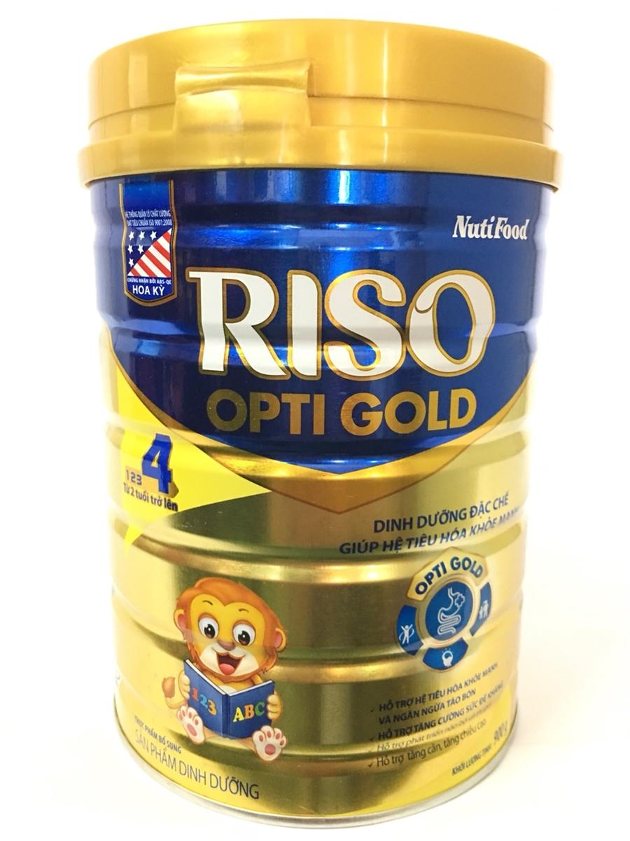 Sữa Riso 4 của Nutifood cho hệ tiêu hóa khỏe mạnh
