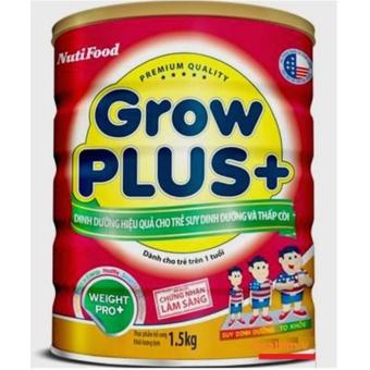sữa grow plus đỏ cho trẻ suy dinh dưỡng