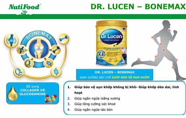 Dr. Lucen BoneMax bảo vệ sụn khớp