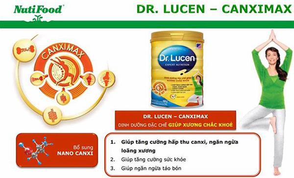 Dr. Lucen CanxiMax giàu canxi