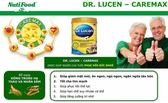 Dr. Lucen CareMax sữa dành cho người gìa