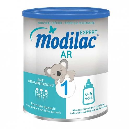 Modilac Expert AR 1 900 gr : Sữa đặc trị cho trẻ 0 - 6 tháng bị trào ngược, nôn trớ khi ăn