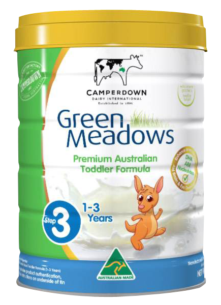 Green Meadows step 3 900 Gr : Sữa tăng trưởng cho trẻ 1 – 3 tuổi