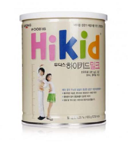 Sữa Hikid vani 600 Gr : tăng chiều cao và cân nặng cho trẻ từ 1 - 9 tuổi