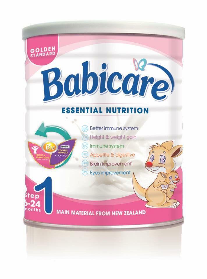 Babicare số 1 700 Gr : Sữa cho trẻ biếng ăn , suy dinh dưỡng từ 6 - 24 tháng