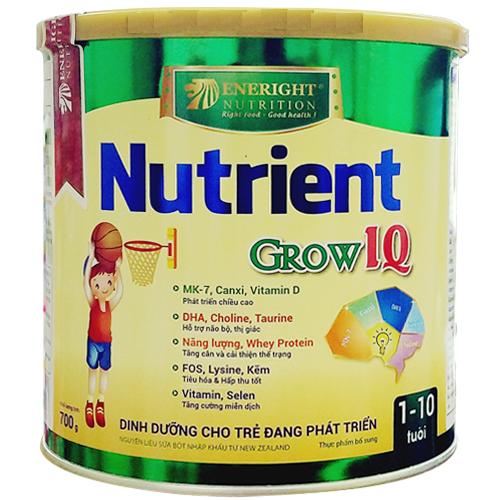 Sữa Nutrient Grow IQ 700 Gr : Dinh dưỡng bổ sung cho bé 1-10 tuổi