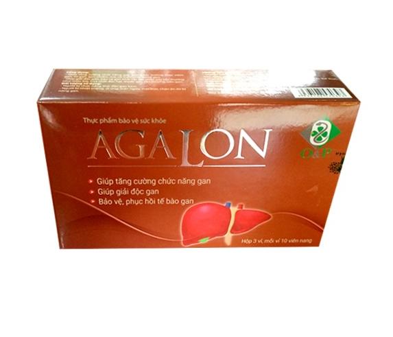 Thực phẩm bảo vệ sức khỏe AGALON: Tăng cường chức năng gan, hỗ trợ giải độc gan cho người uống rượu, hóa chất