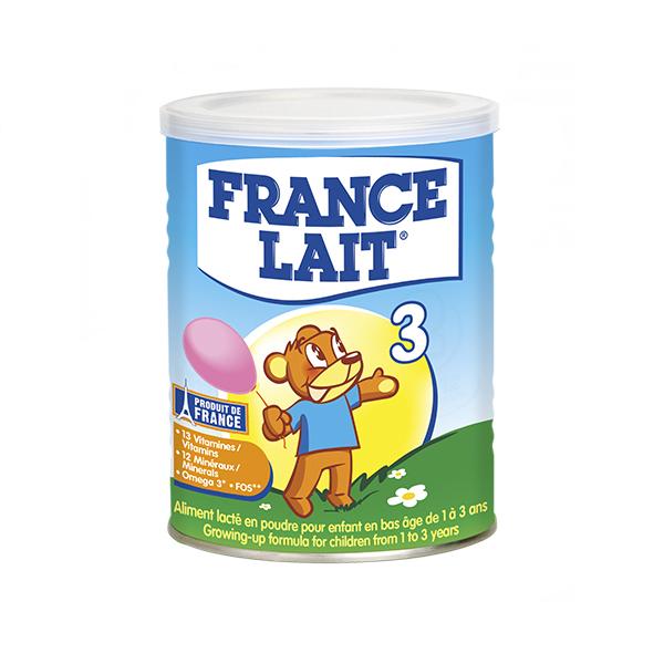 France Lait 3 400 gr : sữa tăng trưởng cho trẻ 12-36 tháng