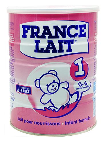 France Lait 1 900 gr : sữa tăng trưởng dành cho trẻ 0-6 tháng