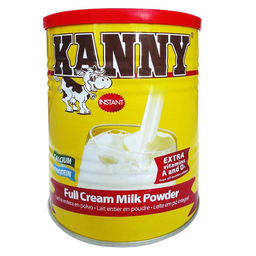 Kanny 900 Gr : sữa cao năng lượng 500 Kcalo/100 Gr, nguyên kem, bổ xung dinh dưỡng từ 4 tuổi trở lên
