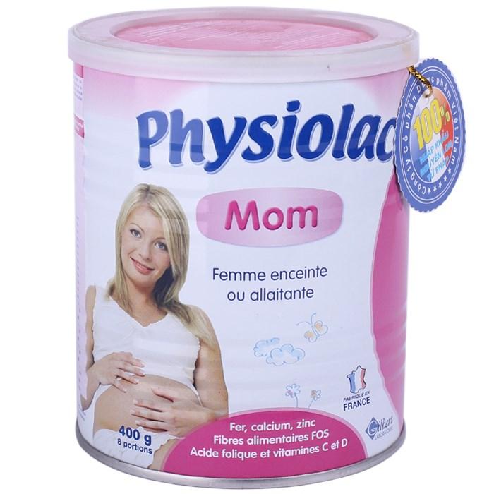 Physiolac MOM 400 gr sữa cho bà bầu , cho mẹ đang cho con bú, bà mẹ chuẩn bị mang thai