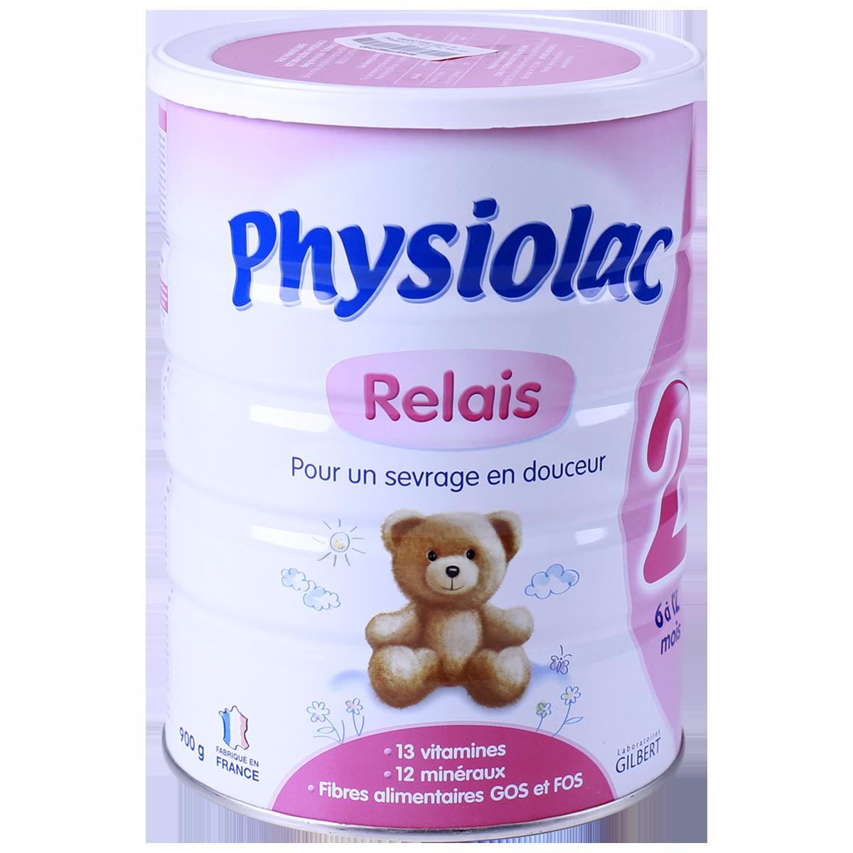 Physiolac 2 900 gr : sữa tăng trưởng cho trẻ 6 – 12 tháng