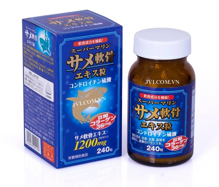 Viên uống Sụn cá mập Super Marine Nhật Bản